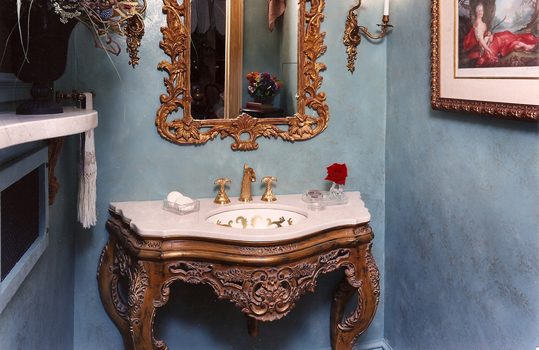 Show House Powder Room